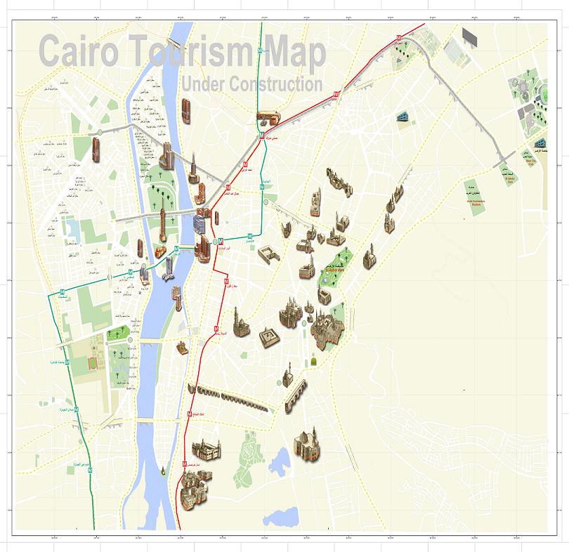الخريطة السياحية