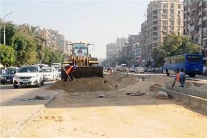 محافظ القاهرة يتفقد أعمال تطوير وتوسعة محوري الحجاز وجسر السويس