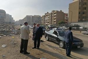 جولة مفاجئة لمحافظ القاهرة بحى شرق مدينة نصر