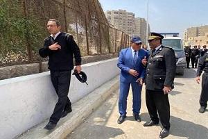 محافظ القاهرة يتابع الإزالات على جانبي محور روكسي رمسيس