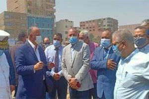 جولة تفقدية لمحافظ القاهرة بحى المطرية