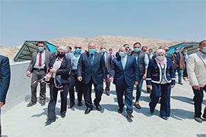 إفتتاح محطة المقطم الوسيطة لنقل المخلفات بحضور عدد من الوزراء ومحافظ القاهرة