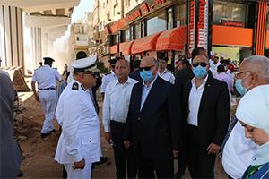 جولة تفقدية لمحافظ القاهرة بمنطقة شرق القاهرة