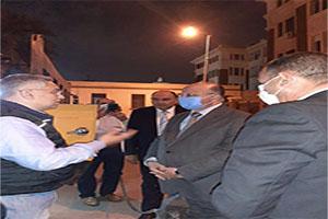 محافظ القاهرة يتفقد عدد من المعدات الجديدة بهيئة نظافة وتجميل القاهرة