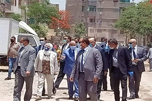 جولة السيد وزير التنمية المحلية والسيد محافظ القاهرة بالسيدة زينب