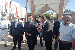 محافظ القاهرة يتفقد حديقة الفسطاط والحديقة الدولية ومشاركة المواطنين فرحة العيد
