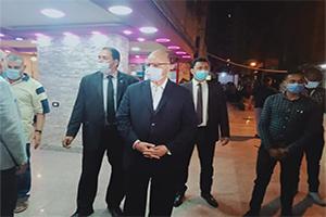 محافظ القاهرة يترأس حملة مكبرة لمتابعة الإجراءات الإحترازية لمواجهة فيروس كورونا