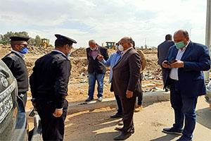 محافظ القاهرة يتفقد أعمال الإزالة بحى السلام أول