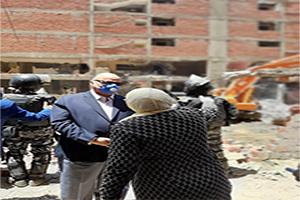محافظ القاهرة وحملة مكبرة لإزالة عقارات مخالفة بدار السلام